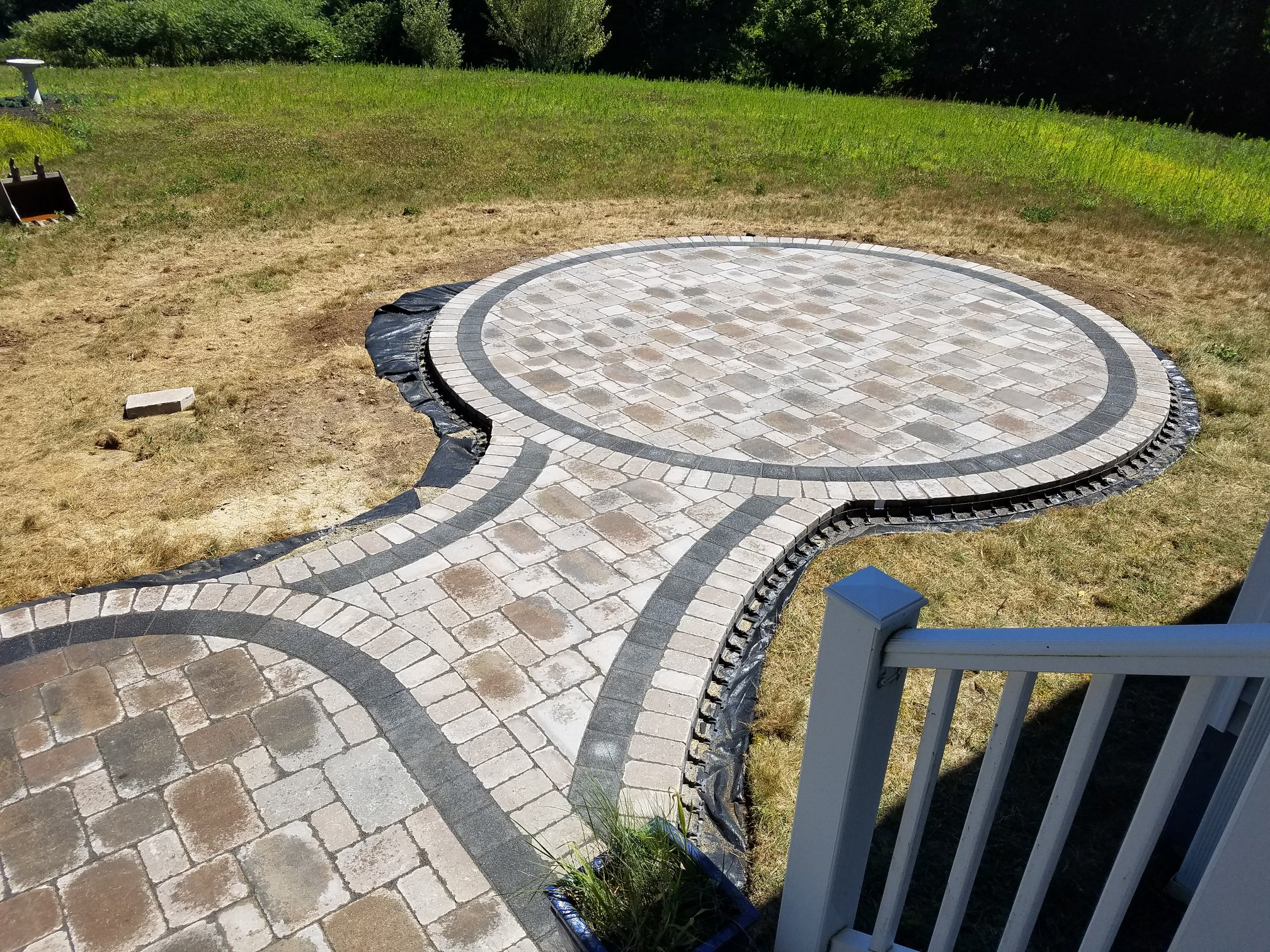 photo of a patio in Princeton Ma