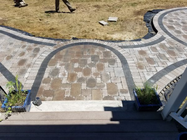 photo of a walkway and patio in Princeton MA