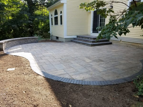 photo of a patio built by Patio Contractor Ideal lLandscape