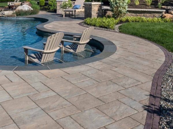 photo of a pool deck