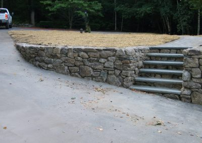 photo of Stone and bluestone stairs- Ideal Landscape