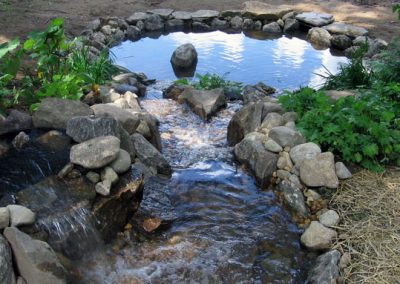 photo of a Water Feature-Ideal Landscape Holden MA