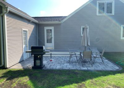 patio in Auburn MA by Ideal Landscape