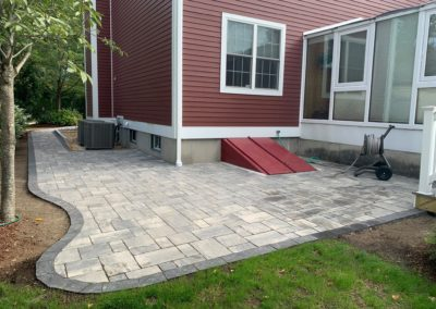 photo of a patio in Shrewsbury MA