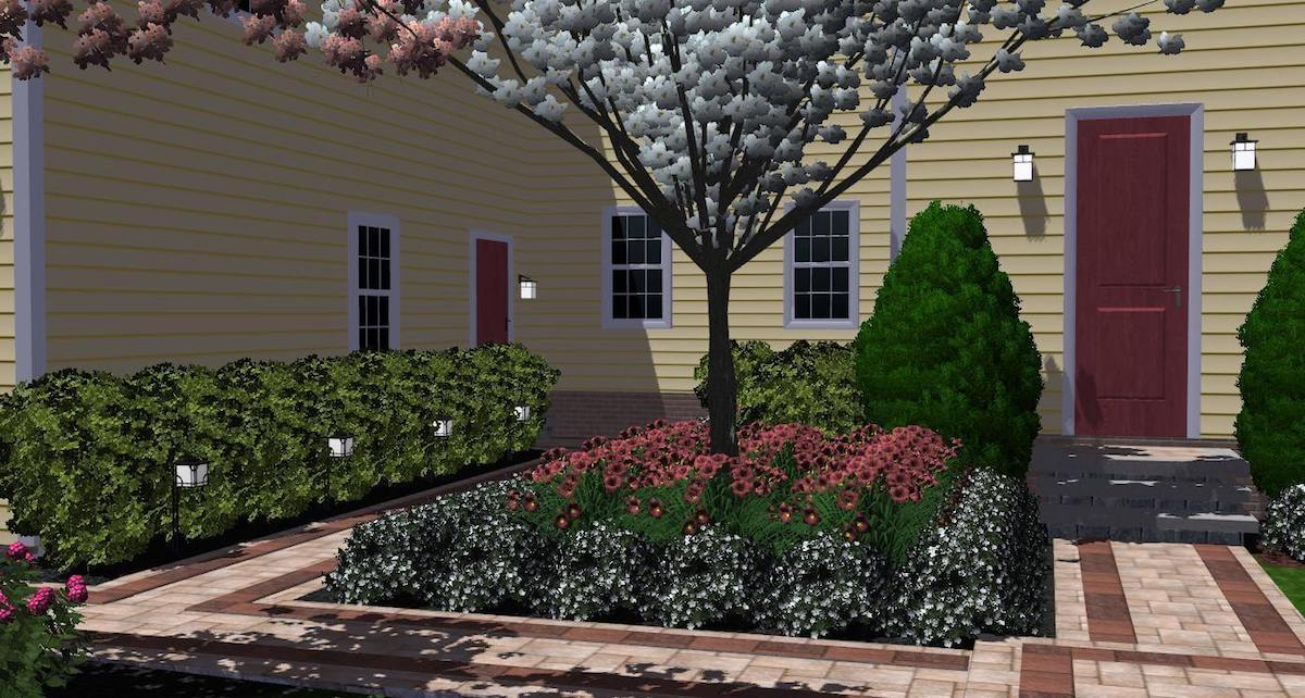 Main Entry 3d landscape design (1)