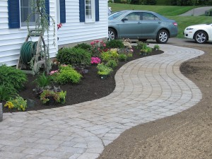 Paver walkway design and construction MA