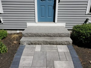 Granite Steps Auburn MA- Ideal Landscaping