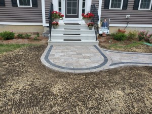 Paver walkway- Ideal Landscape (1)